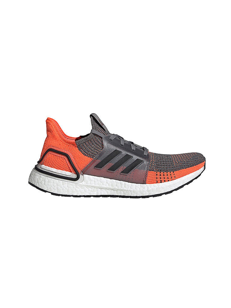 Herren Laufschuh Ultraboost 19 GREY FOUR CORE BLACK HI RES CORAL
